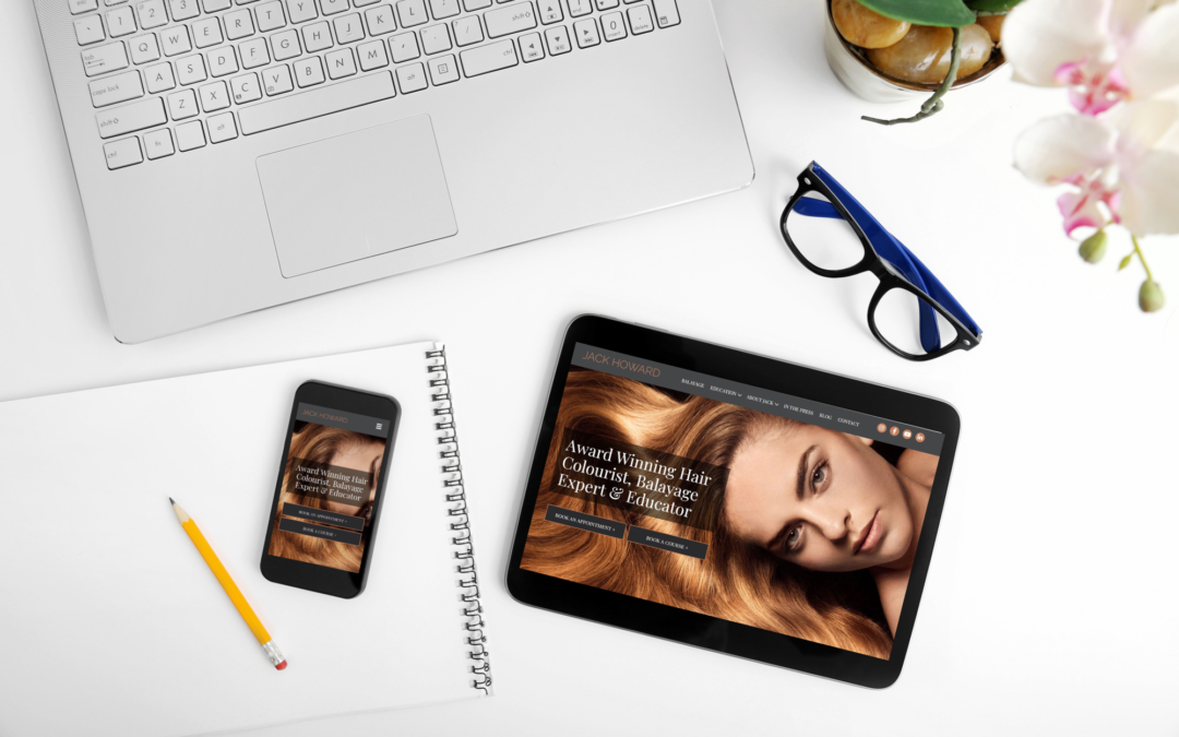 Can you build your own salon website?