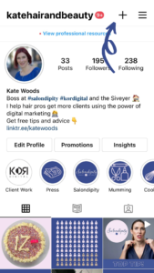 how salons can add instagram guides
