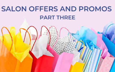 Salon offers and promos when you need a cash flow boost