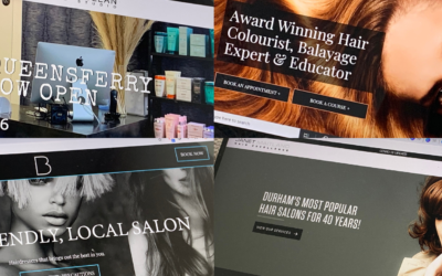 How to find photos for your salon website and social media