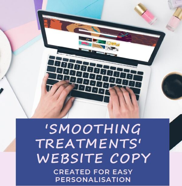 smoothing treatments page website copy